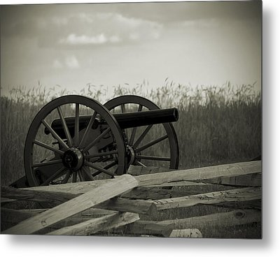 Artillery At Mcpherson Ridge Metal Print