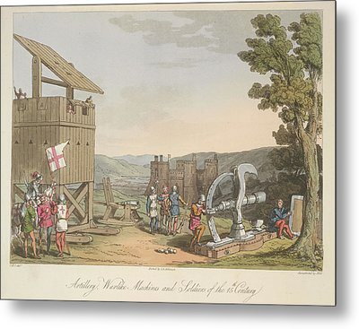 Artillery Metal Print by British Library