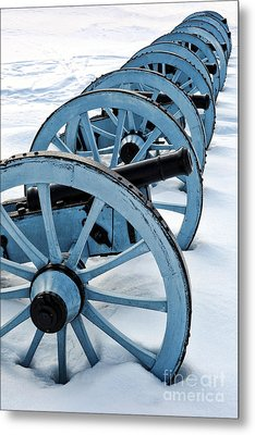 Artillery Metal Print by Olivier Le Queinec