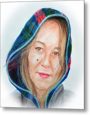Artist Jadranka Bezanovic Sovilj  Metal Print