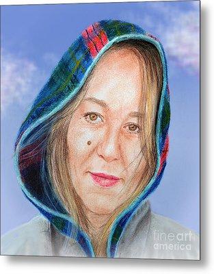 Artist Jadranka Bezanovic Sovilj  Version II Metal Print