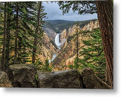 Artist Point Lower Falls   Metal Print