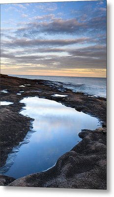 Artist Point Reflection Pool Metal Print