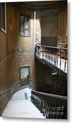 Artistic Staircase In Tbilisi Metal Print by Lali Kacharava