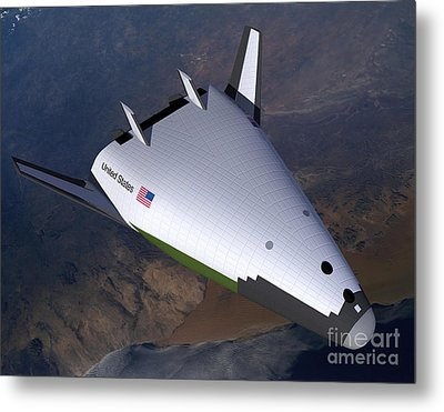 Artists Concept Of The X-33 Metal Print by Stocktrek Images