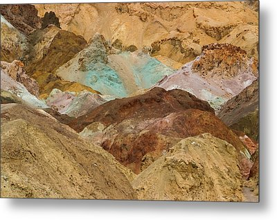 Artist's Paint Palette Abstract Metal Print by Heidi Smith