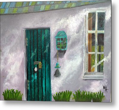 Artist's Studio In The Meadow Metal Print