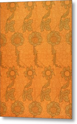 Arts And Crafts Design Metal Print by William Morris