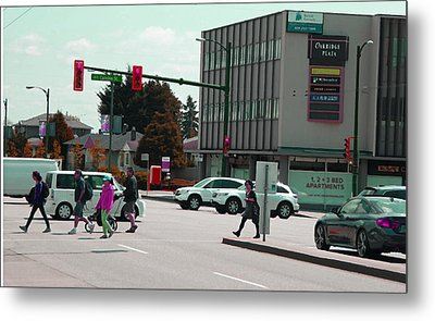 Metal Print featuring the photograph Oakridge Intersection by Laurie Tsemak