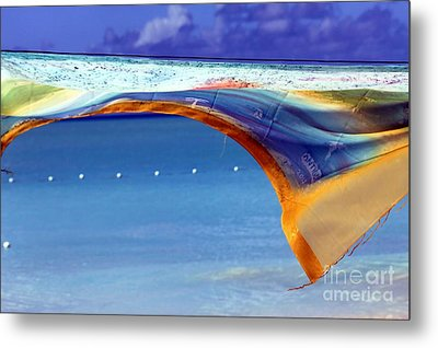 Artwork In The Tropics Metal Print