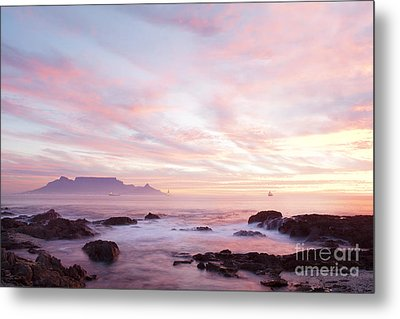 As The Day Ends Metal Print by Neil Overy