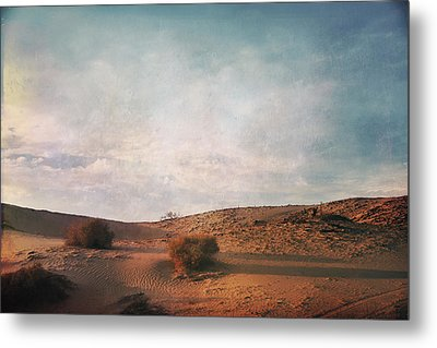 As The Sand Shifts So Do I Metal Print