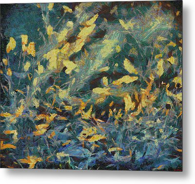 Metal Print featuring the painting As The Wind Blows by Joe Misrasi