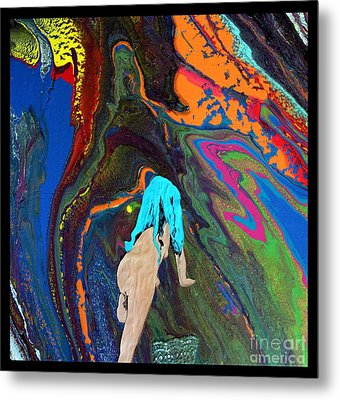 As The World Hurries By.. Metal Print by Trupty Somaiah