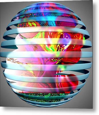 As The World Turns Metal Print by HollyWood Creation By linda zanini