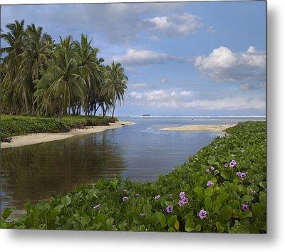 Asan Beach In Guam Metal Print