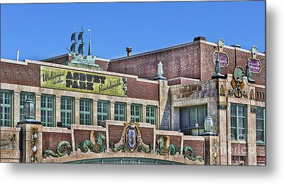 Metal Print featuring the photograph Asbury Park Convention Hall And Paramount Theatre  by Lee Dos Santos