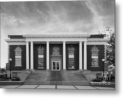 Asbury University Morrison Hall Metal Print by University Icons
