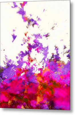 Metal Print featuring the photograph Ascending Floral Abstract by Paul Cutright