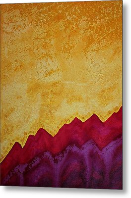 Ascension Original Painting Metal Print