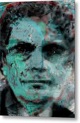 Asfacing2d Metal Print by Immo Jalass
