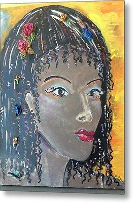 Ashanti Metal Print by Karen Carnow