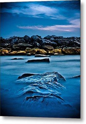 Ashbridges Bay Toronto Canada Breakwall 4 Metal Print by Brian Carson