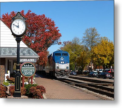 Ashland Train Depot Metal Print