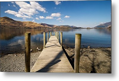 Ashness Jetty Metal Print