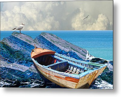 Rest Ashore Metal Print by IM Spadecaller
