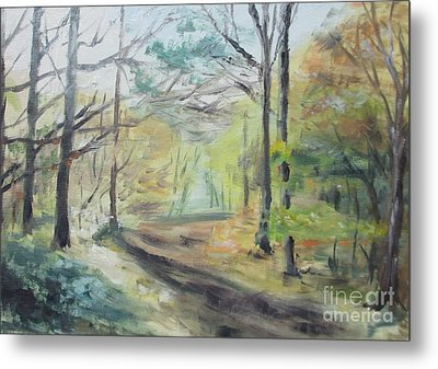 Ashridge Woods 2 Metal Print by Martin Howard