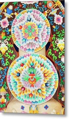 Asia, Bhutan, Bumthang Metal Print