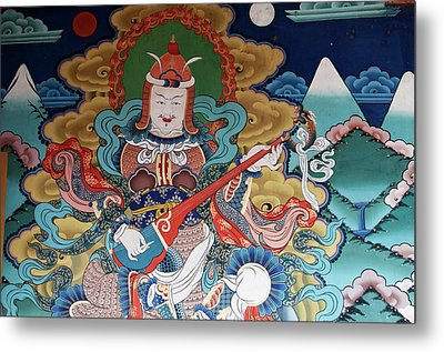 Asia, Bhutan, Punakha Metal Print by Jaynes Gallery