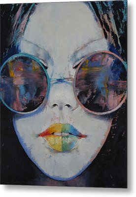 Asia Metal Print by Michael Creese