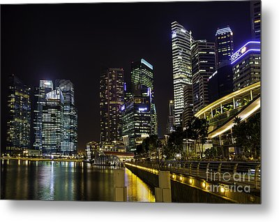 Asian Neons Metal Print by Pete Reynolds