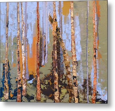 Aspen Forest Colorado Metal Print