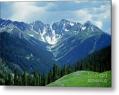 Metal Print featuring the photograph Aspen Mountain by Arthaven Studios