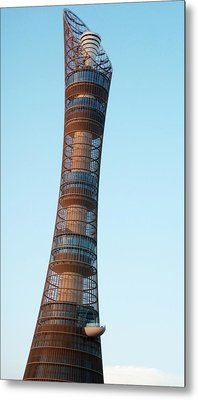 Aspire Tower Metal Print by Bob Edwards