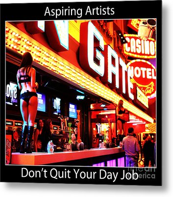 Aspiring Artists Metal Print by John Rizzuto
