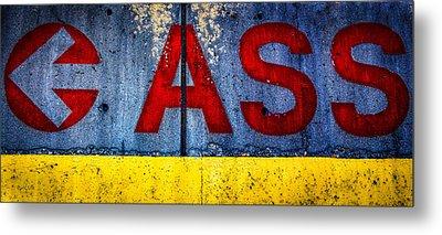 ASS Metal Print by Bob Orsillo