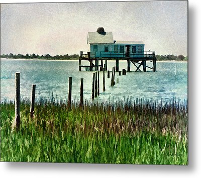 Assateague Abandon Metal Print