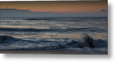 Assateague Waves Metal Print