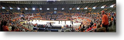 Assembly Hall University Of Illinois Metal Print by Thomas Woolworth