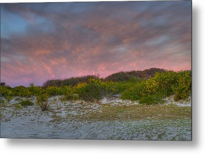 Asseteague Island Dune Sunrise Metal Print by Greg Vizzi