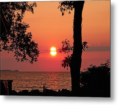 Metal Print featuring the photograph Association Island Sunset by Aimee L Maher Photography and Art Visit ALMGallerydotcom