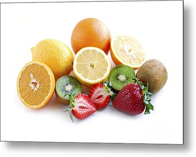 Assorted Fruit Metal Print