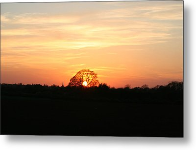 Aston Sunset Metal Print