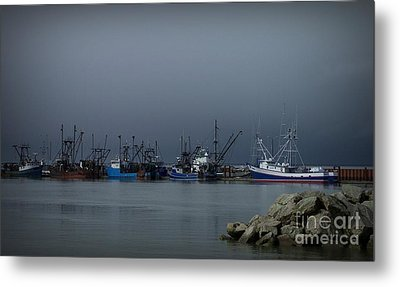 Astoria Safe Harbor Metal Print