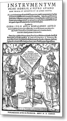 Astronomers, 1533 Metal Print by Granger