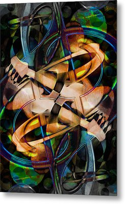 Asturias In G Minor Abstract Metal Print by Georgiana Romanovna